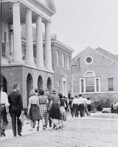 Photo courtesy of The Ole Miss, 1944.