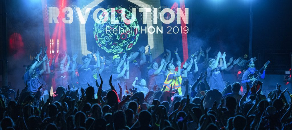 RebelTHON 2019. Photo by Thomas Graning/Ole Miss Digital Imaging Services