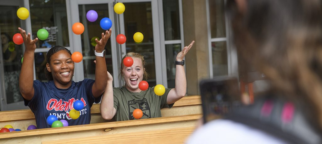 Welcome Week 2019. Photo by Thomas Graning/Ole Miss Digital Imaging Services