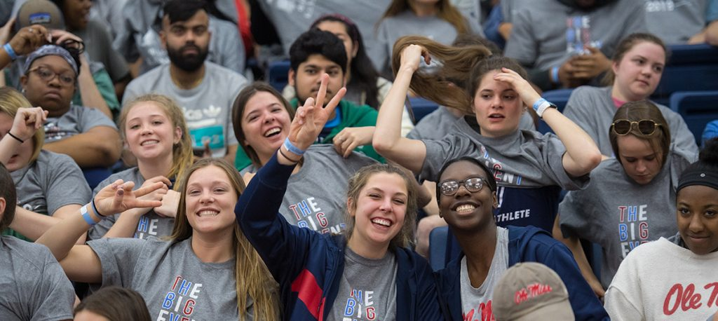 The Big Event 2019. Photo by Kevin Bain/Ole Miss Digital Imaging Services.